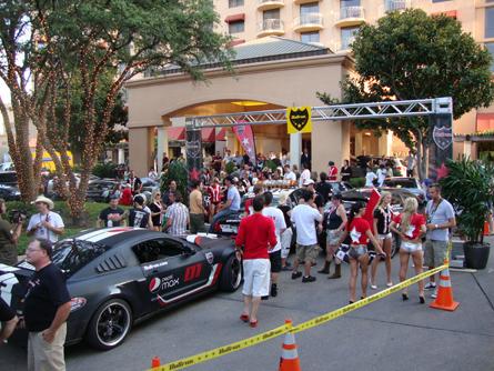 Bullrun 2009 Austin Finish 3